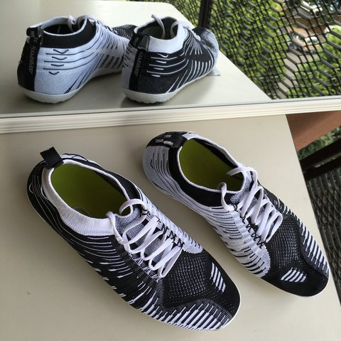 5cb05a84545e8 Nike Free Hyperfeel Run SP - Black White-Wolf Grey  634427 a - Depop