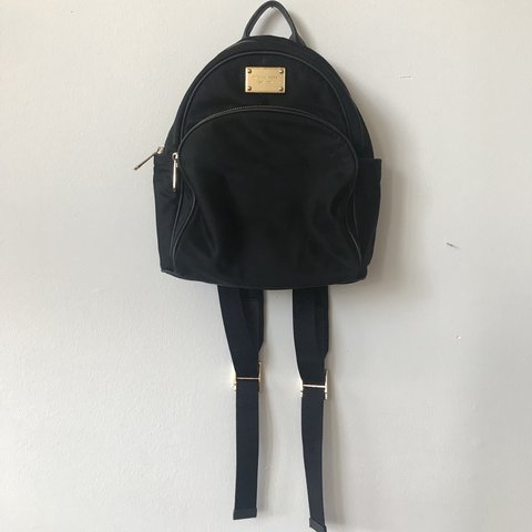 11a81d27382bf4 @nativemess. 11 months ago. New York, United States. MICHAEL KORS MEDIUM  ABBEY BLACK BACKPACK ...
