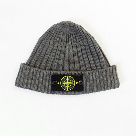 f85d3e43d04d0 A W 2011 Stone Island ribbed beanie hat. One size fits most