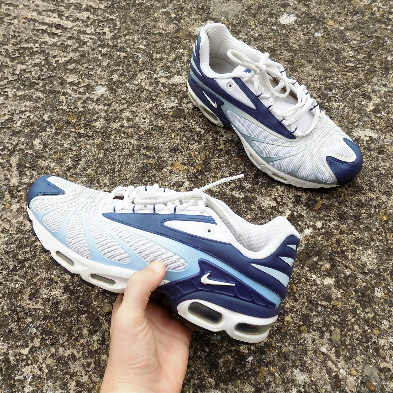 competitive price bc14c 5b162 2006 Nike Air Max TN Tailwind 5 plus in blue/white.... - Depop