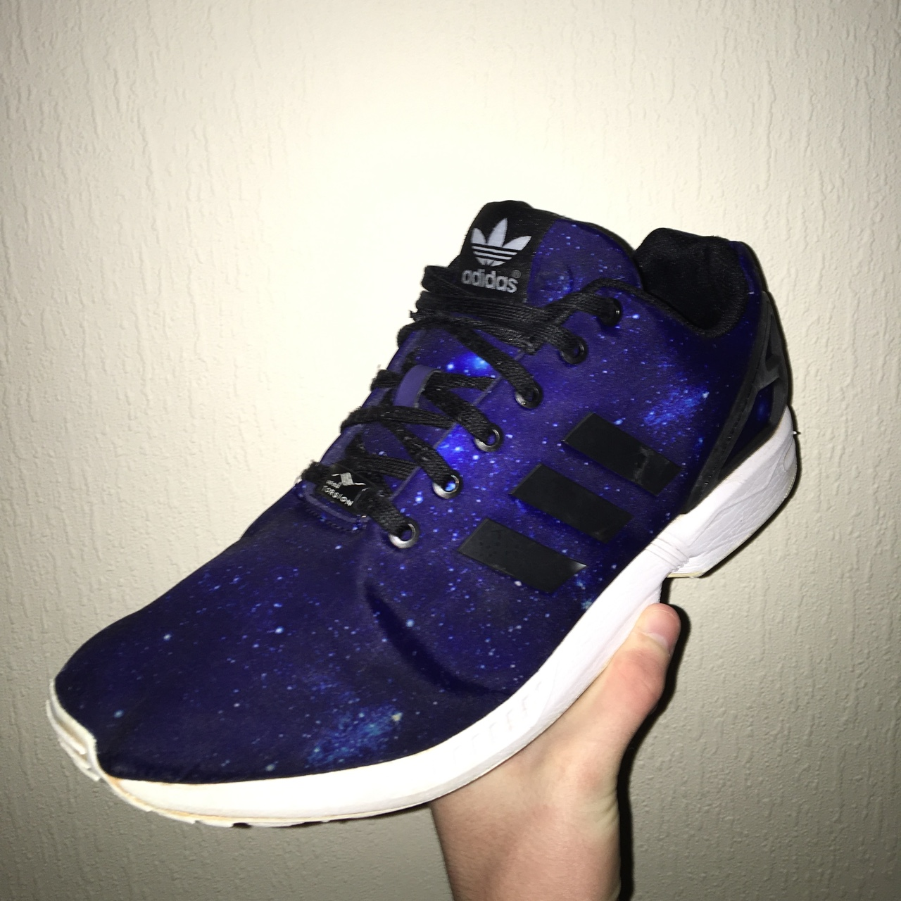 site réputé 3a296 dd2af Adidas ZX Flux LTD Galaxy Limited edition - bought... - Depop