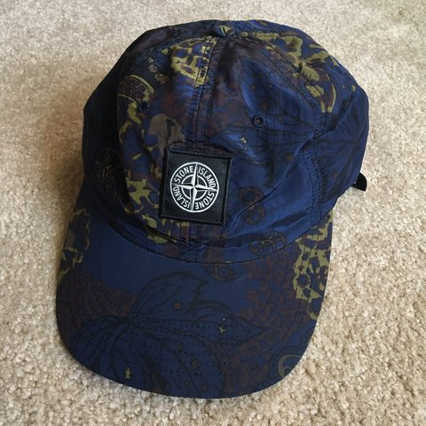 8fb2ea48 @lordwhalley. last month. Arcadia, United States. New w/out tags Supreme x  Stone Island Hat