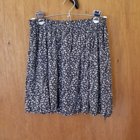 fb6ff564e Brandy Melville floral mini skirt, size S Soft and comfy So - Depop