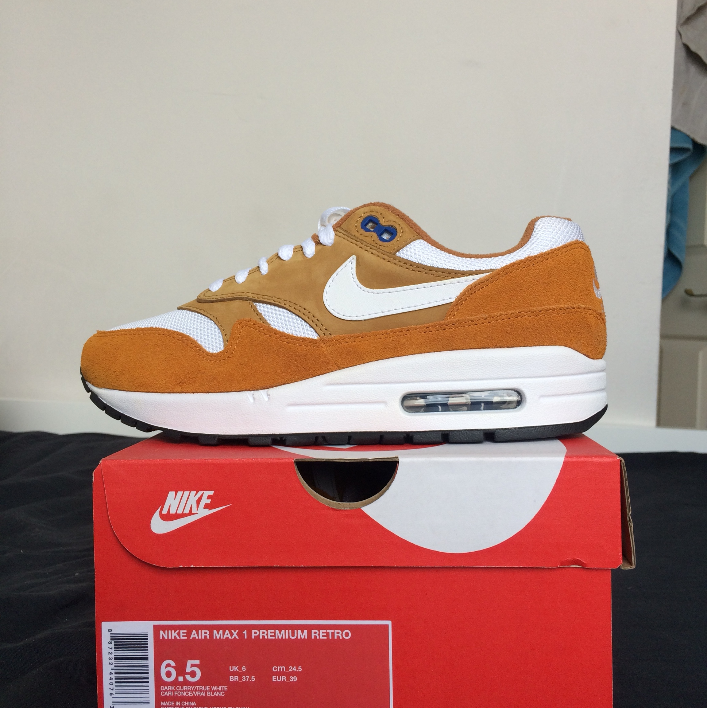 WTS: Air max 1 Curry 2018 Condition: Brand New Size: Depop