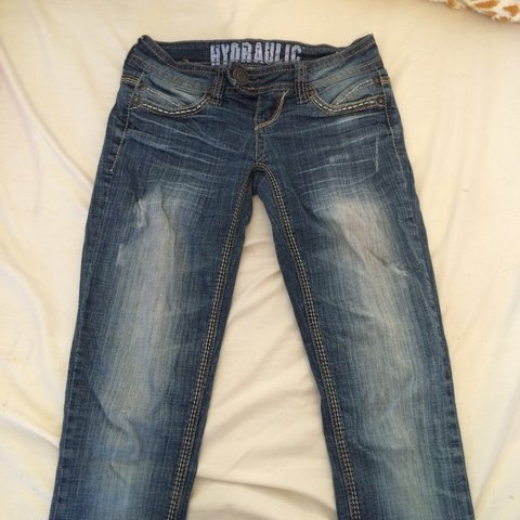db375fc8aab Hydraulic Vicki super skinny  jeans. Worn a few times but 0 - Depop