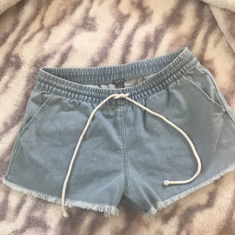 ca3419388d Aerie Denim Shorts! Look brand new only worn once tags: - Depop