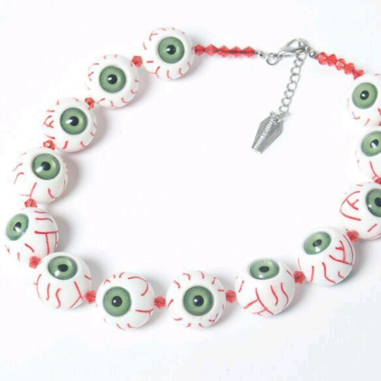 necklace il fullxfull green listing eyeball pendant glass esoteric