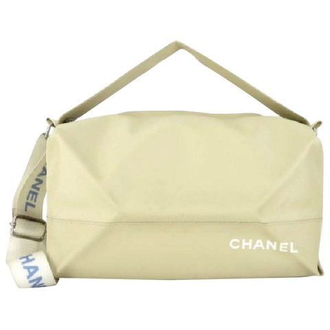 f398c8259b4f VINTAGE Chanel cloth bag. Bought from Vestiaire collective. - Depop