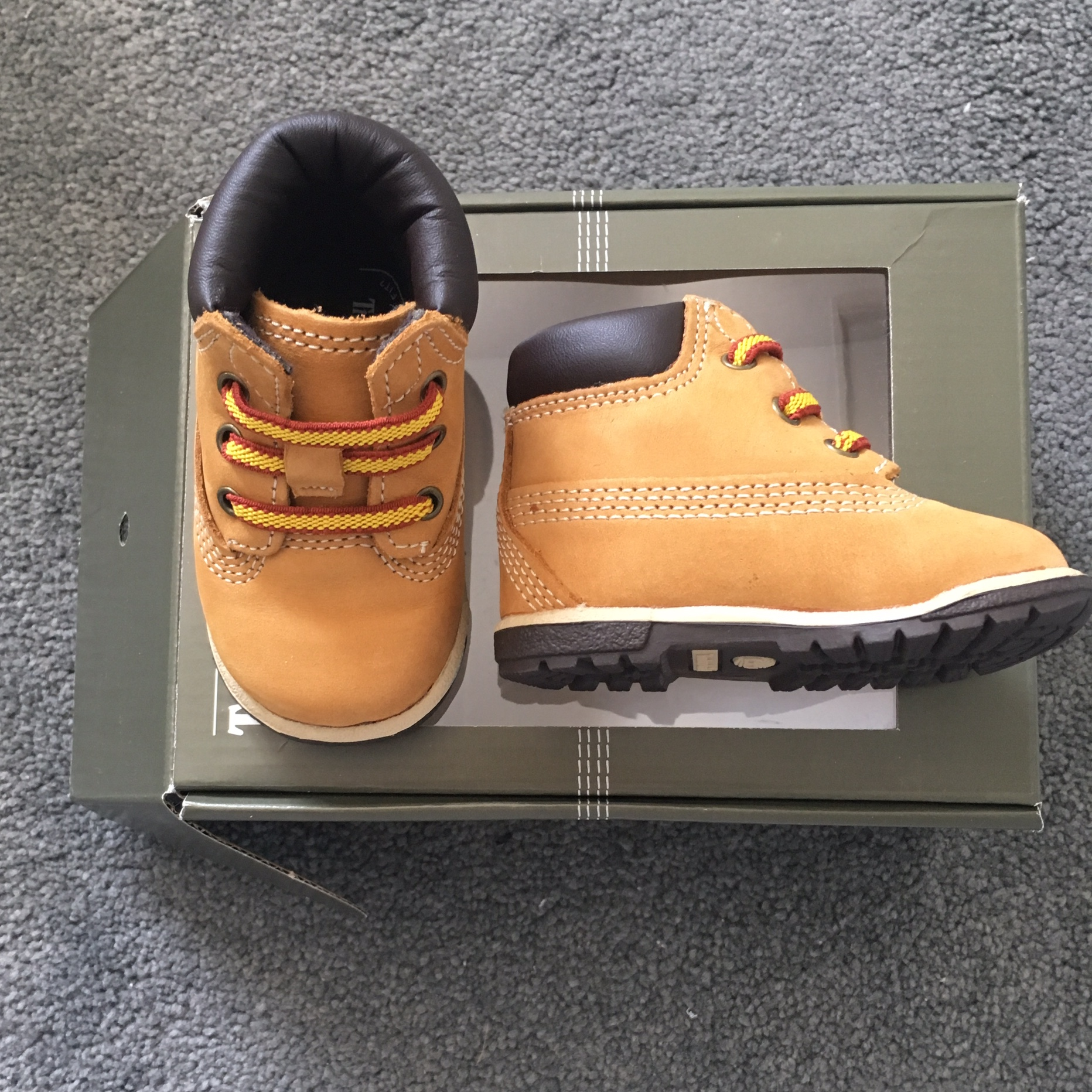 Baby Infant Timberland size 1.