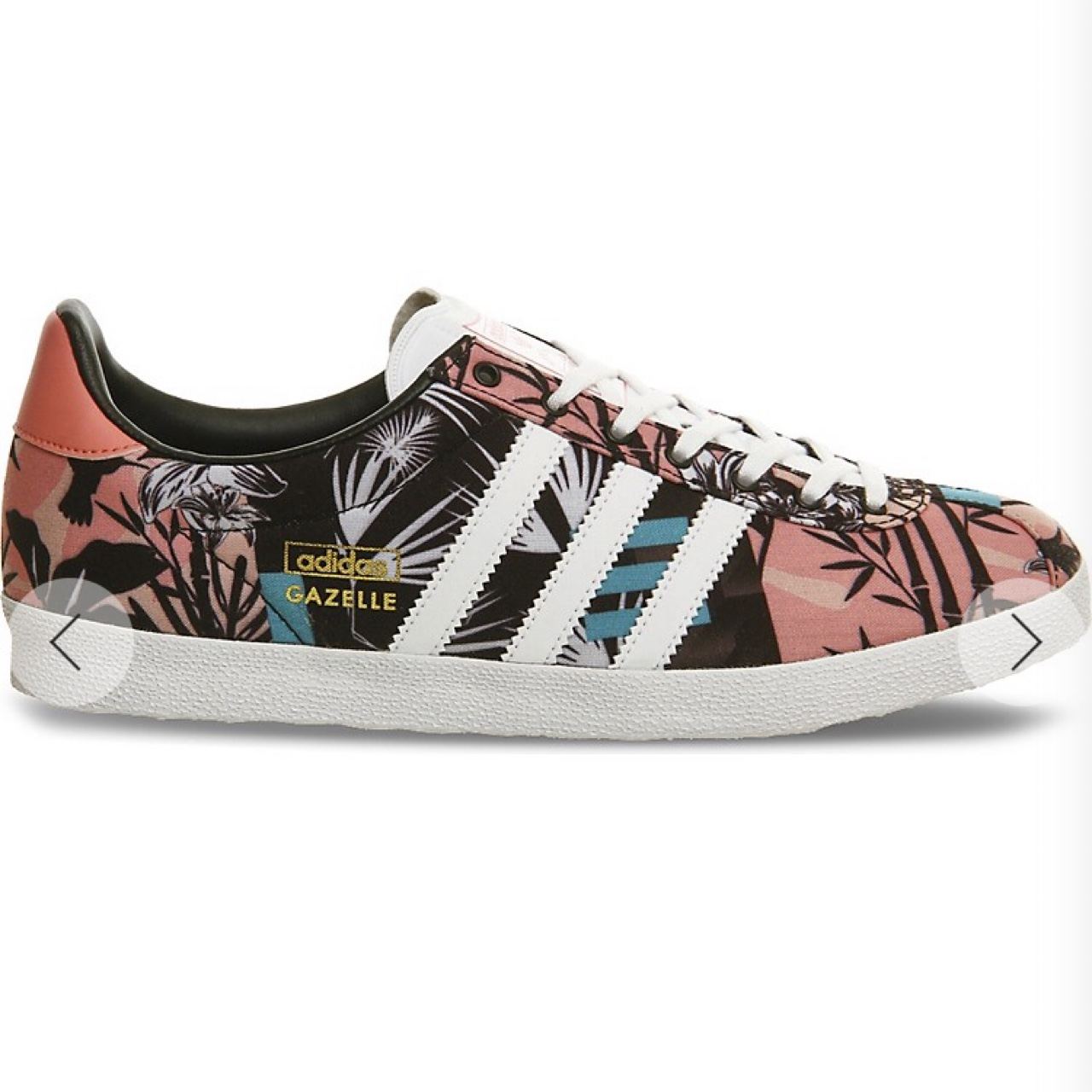 Cool floral shoes limited edition from Adidas | Sapatos para
