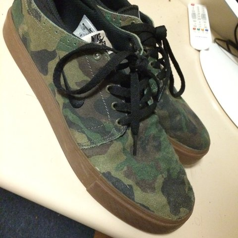 c052eb5bf7a0a @archieclarke1. 3 years ago. Brentwood, Essex, UK. Nike SB camo shoes ...
