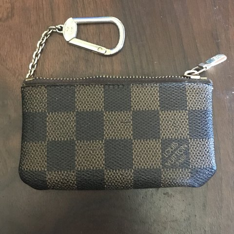 fd5f4c0fe0a9 ️Price reduction‼ Louis Vuitton key pouch. Damier ebene in - Depop