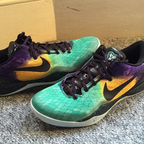 7f24bc16ae6f Nike zoom Kobe VIII Easter collection. Rare colour way. Worn - Depop