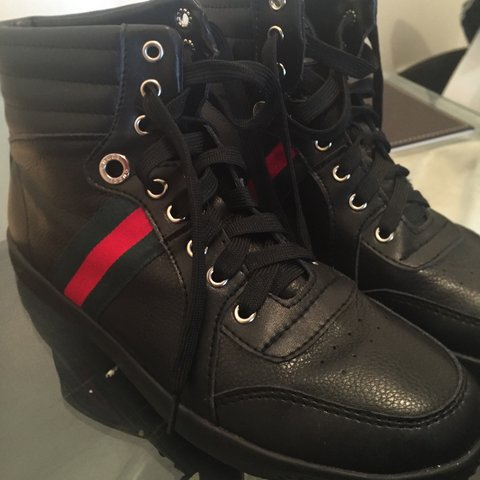 b474c6a78 Men s Gucci high top trainers