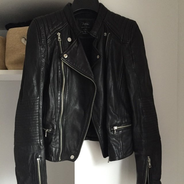 c2dc8fa8ba @annabellewaters. 5 years ago. Paris, France. Zara trafaluc perfecto leather  jacket.