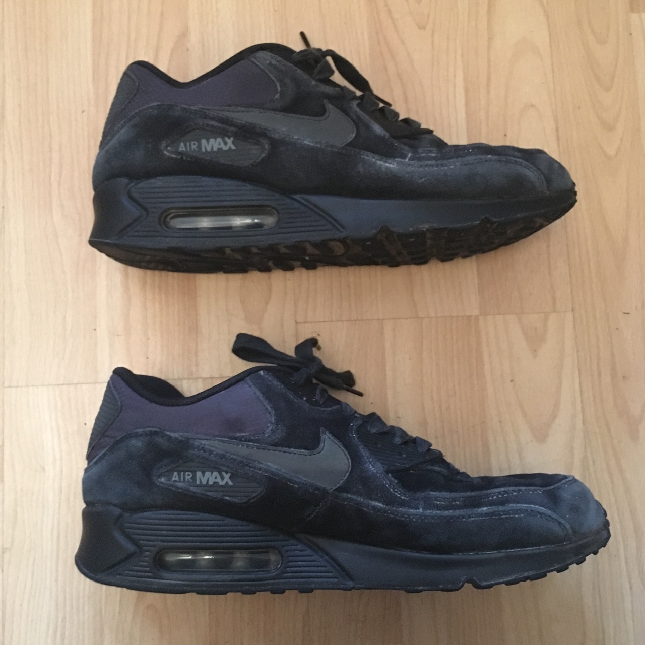 All black 1 Air Nike reflective Depop Suede Max 3M with H2bDE9YeWI