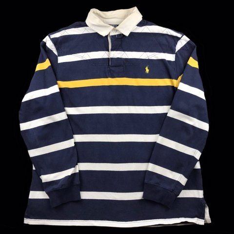 f808ce0c @lukeslocker. yesterday. Eastbourne, United Kingdom. Vintage Ralph Lauren  long sleeve polo shirt ...