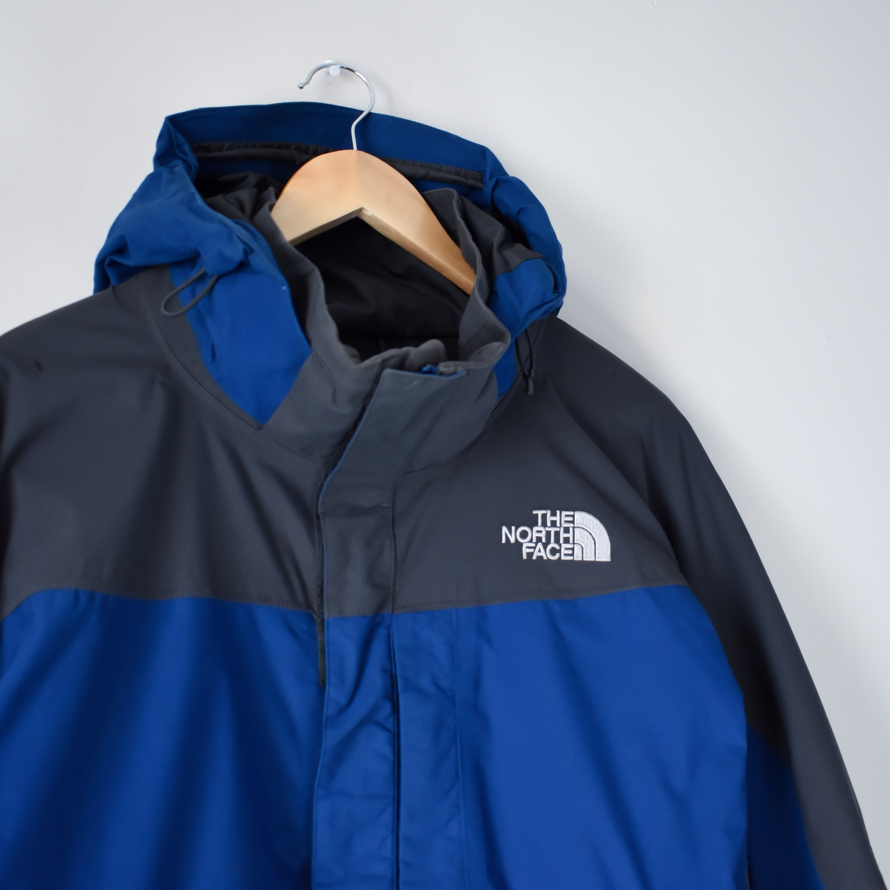 Purchase North Face Hyvent Blue Up To 70 Off