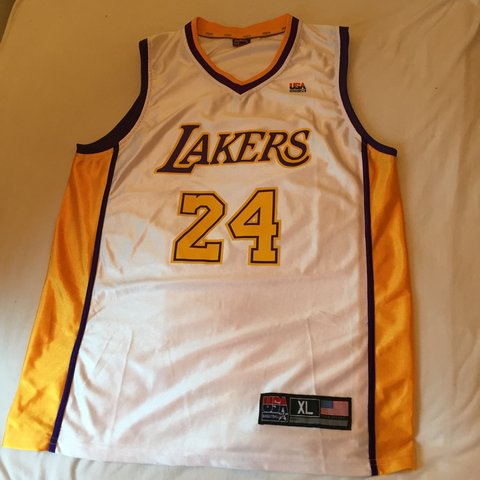 2ee38e60bf8 Charitybuzz: Authentic Los Angeles Lakers Jersey Signed by Kobe ...