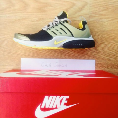 b4bbb88eb039 Nike Air Presto QS  Brutal Honey  Size  UK 8-9 (S). Never OG - Depop