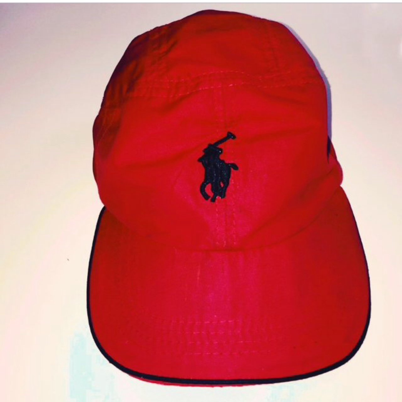 8207d5f154c Reserved Genuine vintage red and black Ralph Lauren cap Can - Depop
