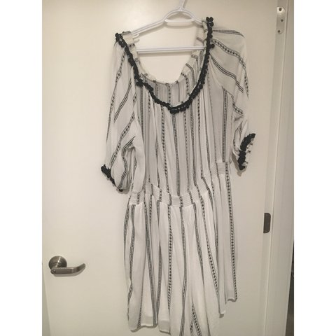 f3d8efc1df61  thevintagehoneybee. 5 months ago. United States. Selling this super comfy  Lane Bryant striped romper! Only ...