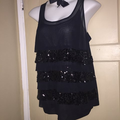 87fdd00487ae Lane Bryant Dress top size 18/20 in Great Condition. Sheer - Depop