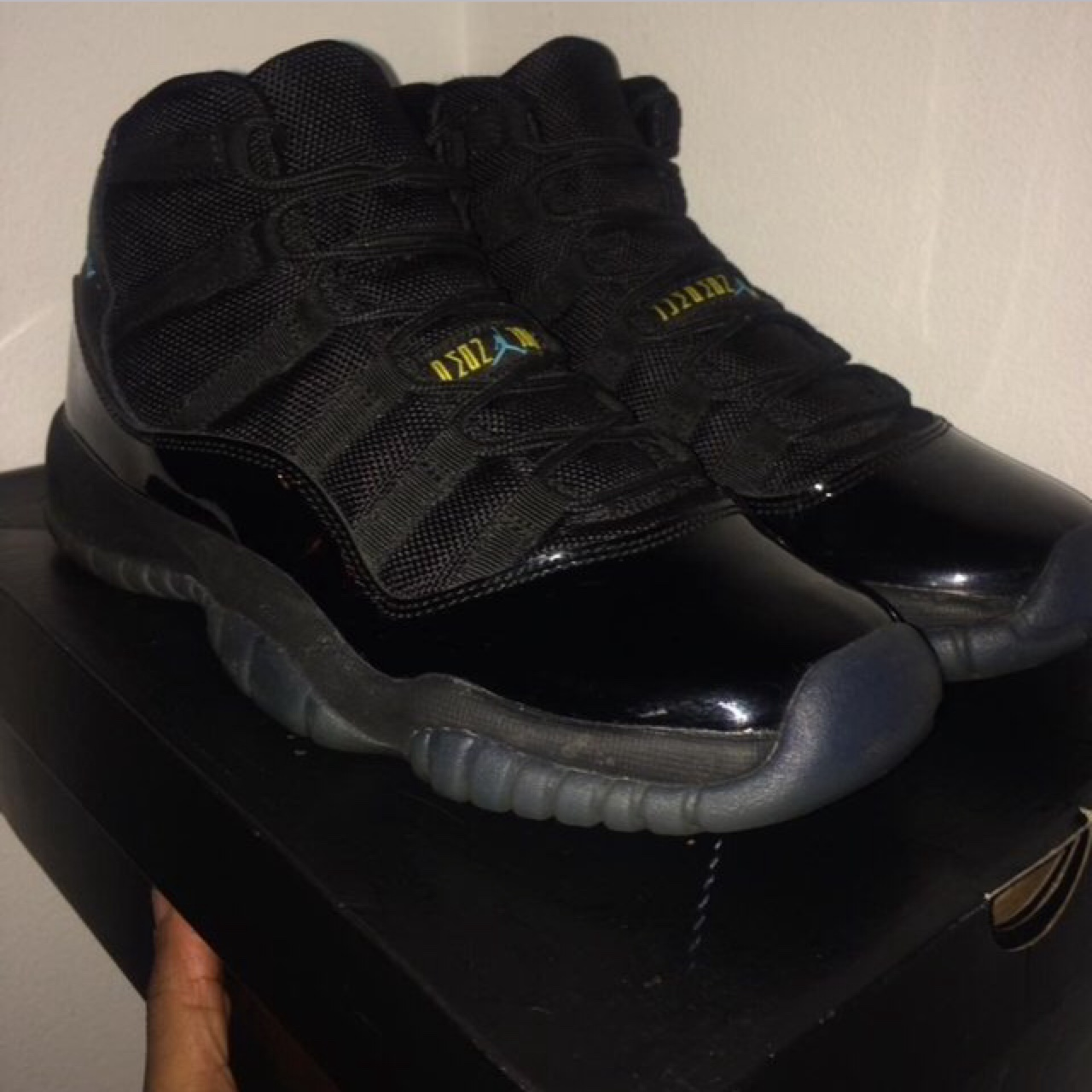 finest selection ef78a 46107 Jordan 11 gamma blue (GS)- size 6 (with box). I have... - Depop