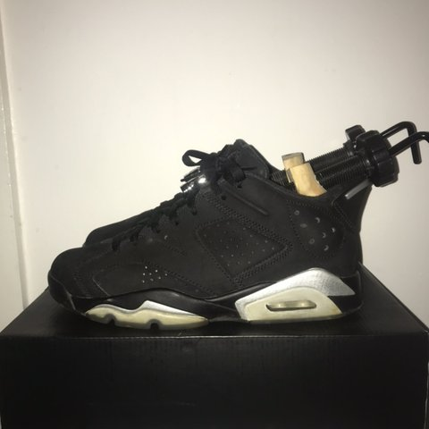 917a70995df512 Jordan 6 chrome lows Here are my jordan 6 chrome lows for - Depop