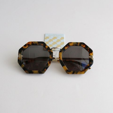 b038b5136189 karen walker moon disco sunglasses. octagonal in shape with - Depop