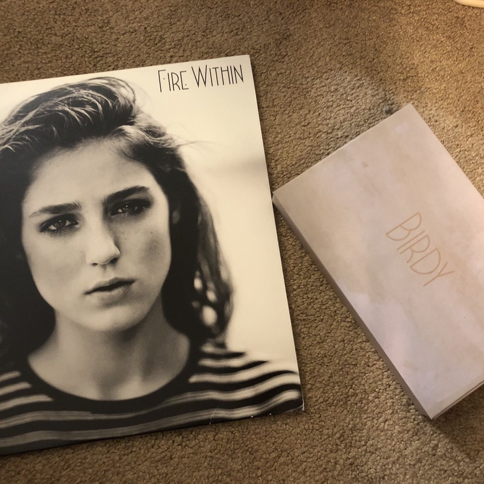 "birdy's ""fire within"" double disc LP vinyl and album    - Depop"