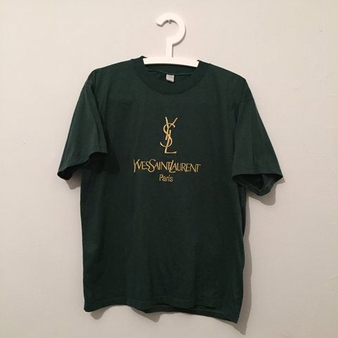23567d82 @j_d_d. 3 years ago. Sevenoaks, UK. YSL Yves Saint Laurent vintage T shirt.