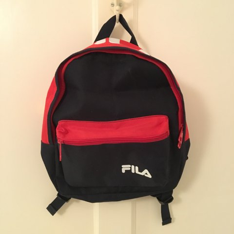 MINI fila backpack   never used   bought from urban   sporty - Depop