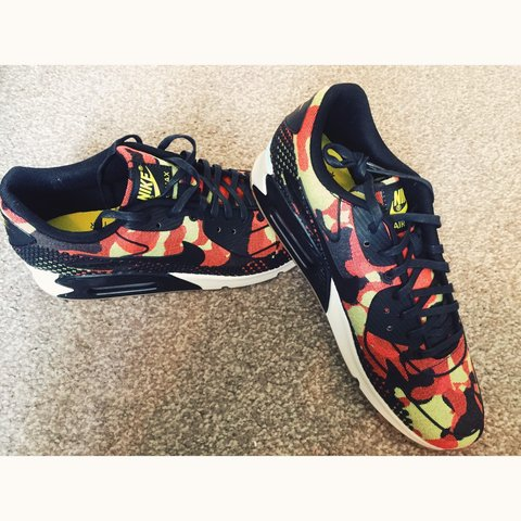 8baeab26fb @bredrinette. 3 years ago. Birmingham, UK. Nike Air Max 90 Camo... Size 7...  Brand New!!! Free Postage!!! Open ...