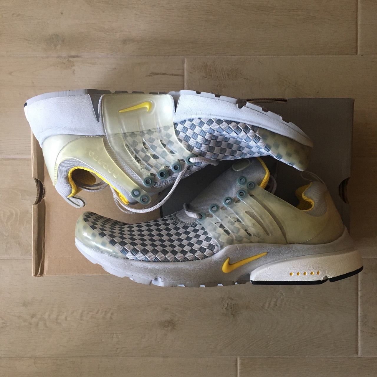 price reduced how to buy best value Nike Air Presto Woven from 2002. Condtion: deadstock... - Depop