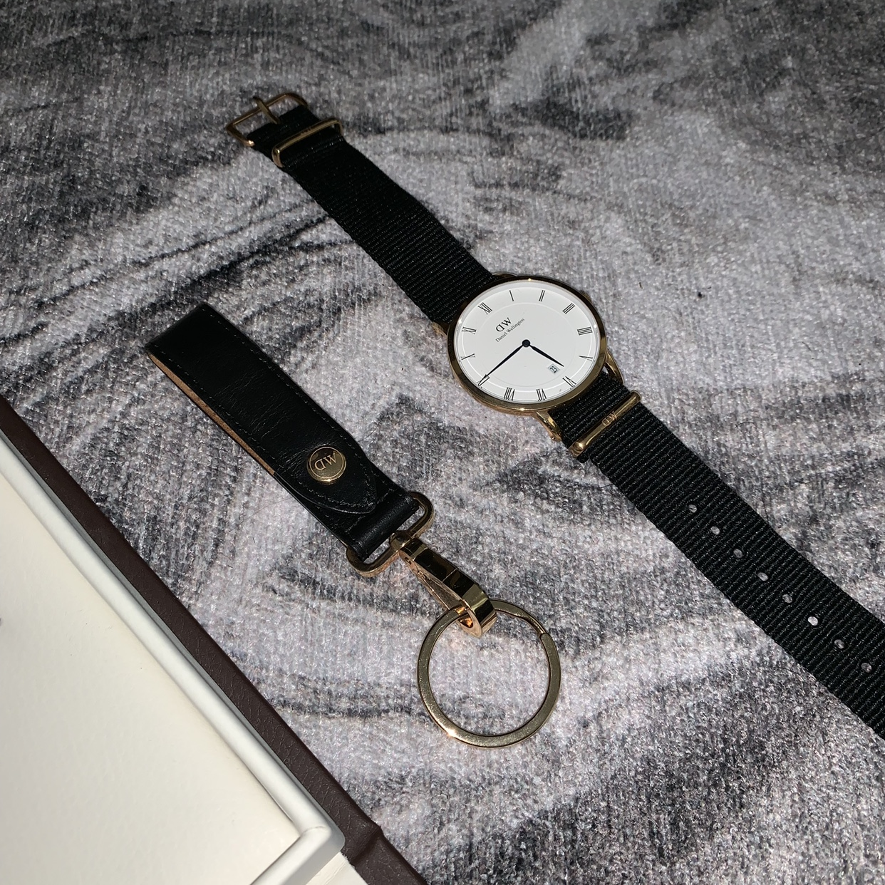 BRAND NEW! Daniel Wellington watch with a classic,    - Depop
