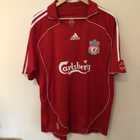 fabb57de8 Liverpool Home 2006 08 Football Shirt XL Great Condition as - Depop