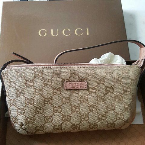 f7cff085a Authentic GUCCI sling Purse. Brand new in box.... - Depop