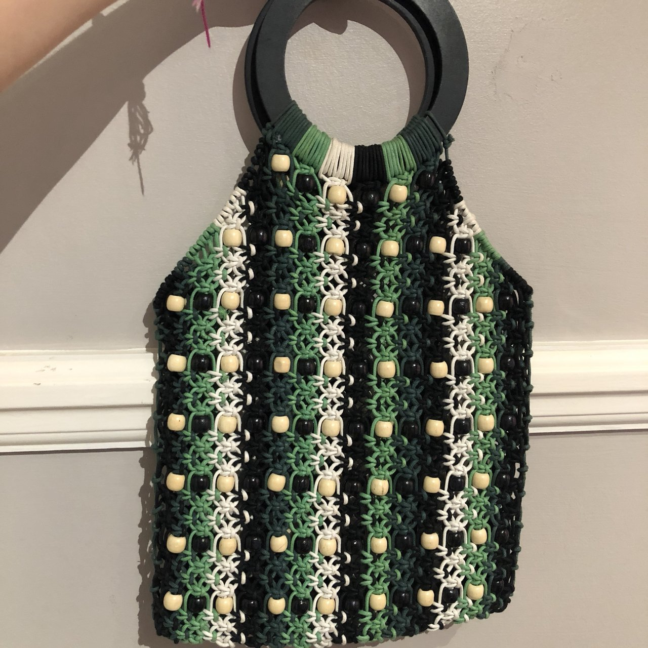 Topshop crochet bag. Only used 476228675