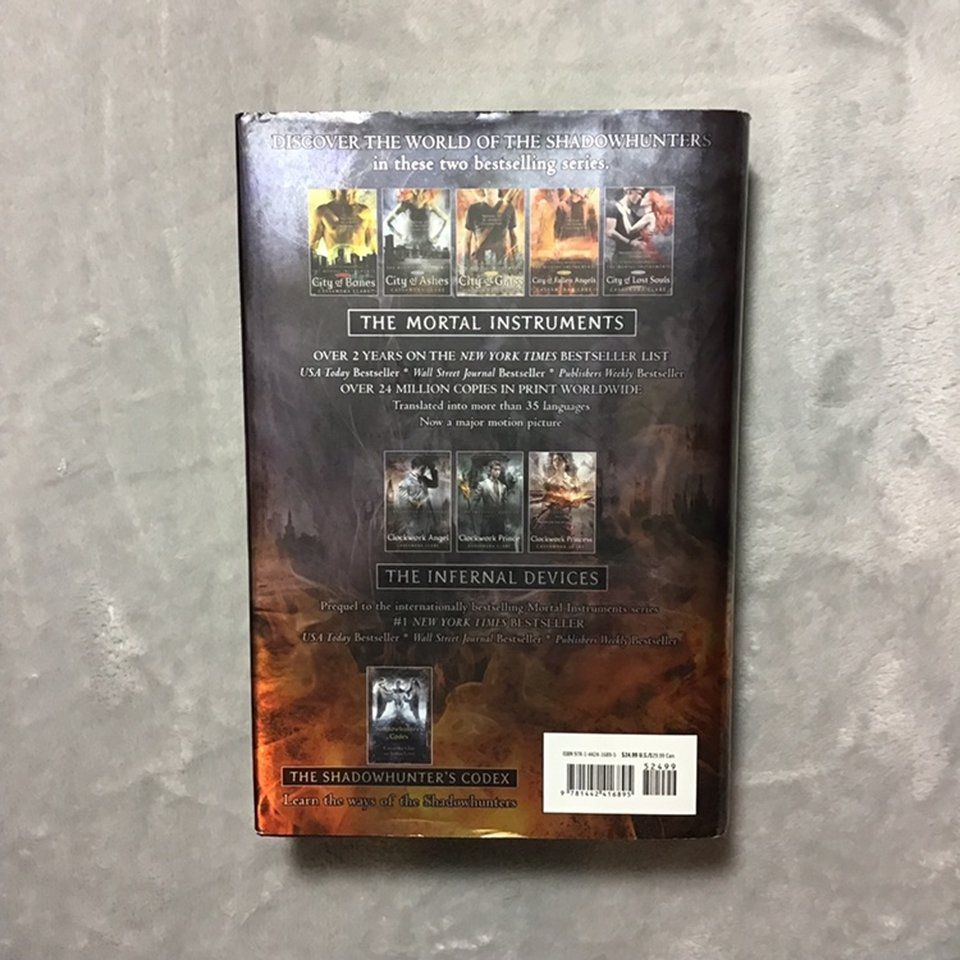 The sixth book of the mortal instruments series,    - Depop