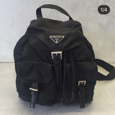 065a6e21798722 PRADA BACKPACK. 26x26x7 #prada #backpack #zaino #fashion - Depop