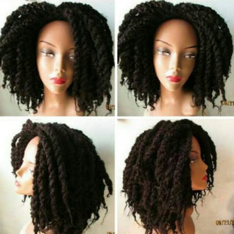 Karalyne Kayne Natural Hair Inspired Two Strand Twist Wig Depop