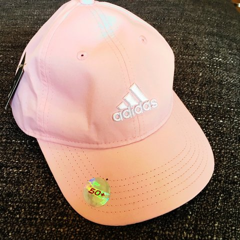 24e18000b86b2 Baby Pink Adidas cap. Never worn. Great condition. - Depop
