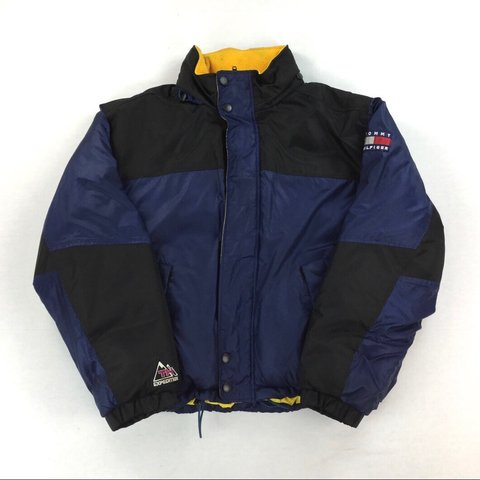 00ea150075c6d5 Vintage Tommy Hilfiger Expedition Puffer Jacket Men s XL -   - Depop