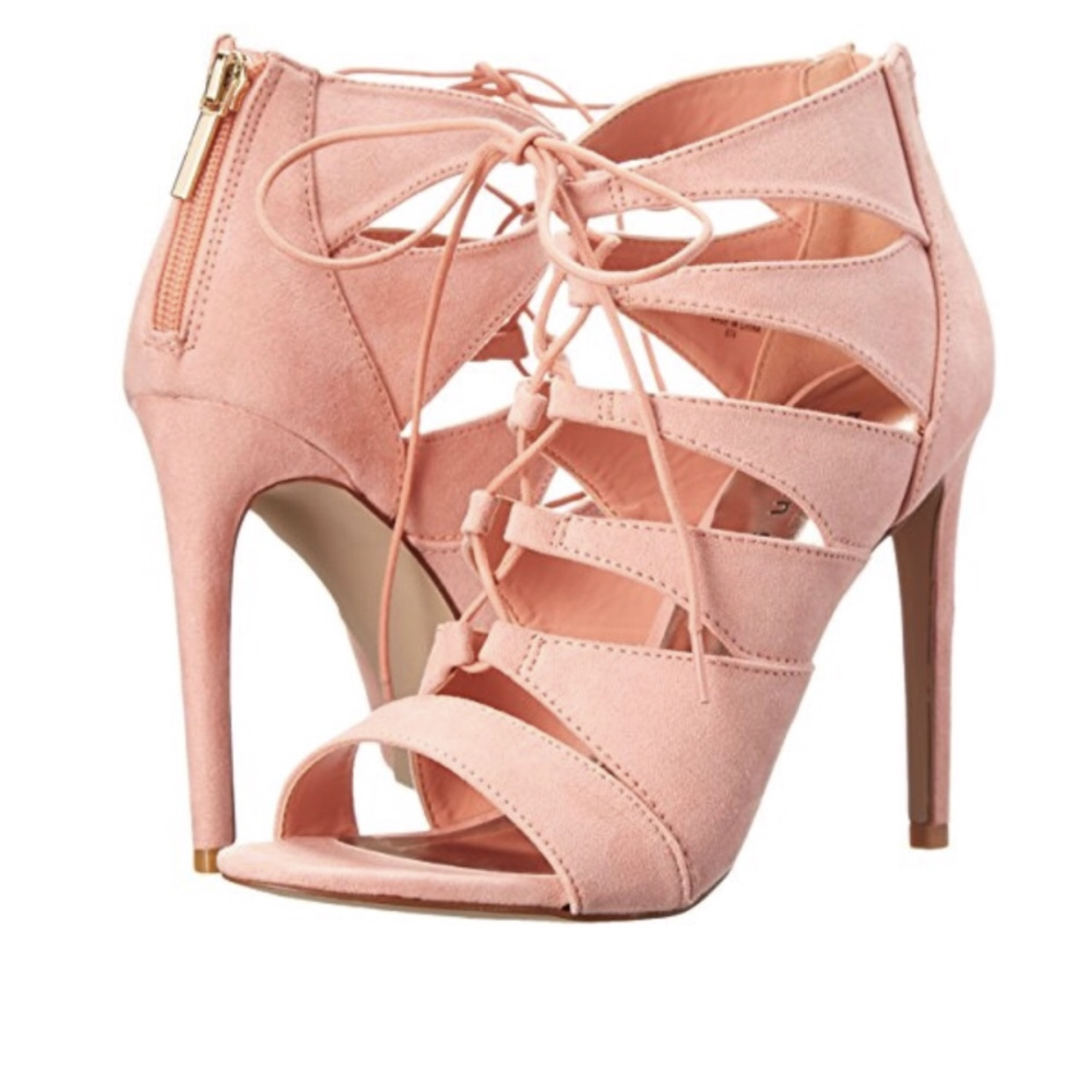 Madden girl Raceyyy laceup heels in a