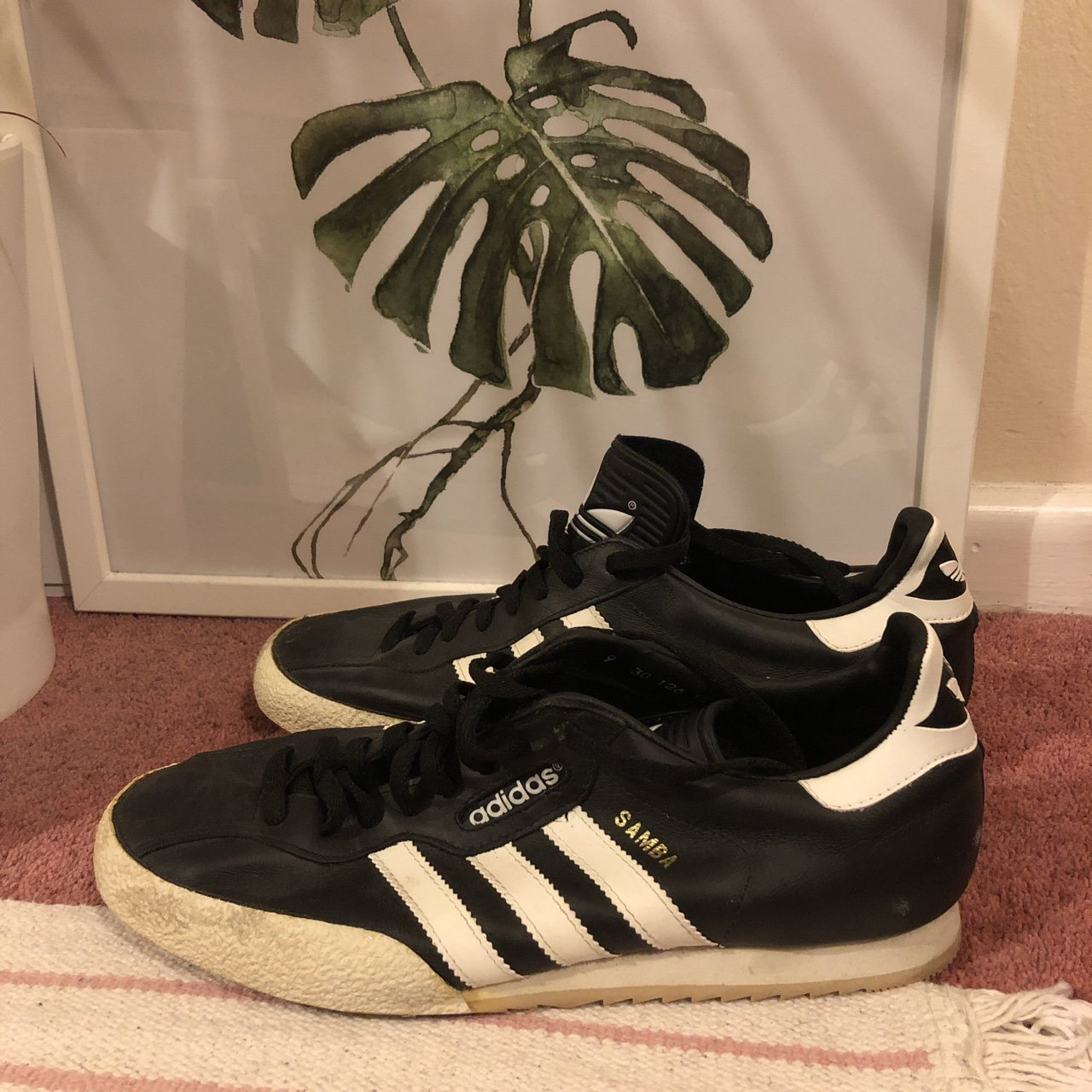Adidas Samba trainers in size 9. Barely worn so in great to - Depop 964f83449