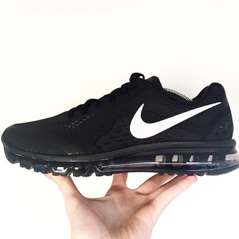 hot sale online 5a489 42012  hookedbhm. 4 years ago. Lichfield, Lichfield, Staffordshire, UK. Nike Air  Max 2014 Black Reflective Silver ...