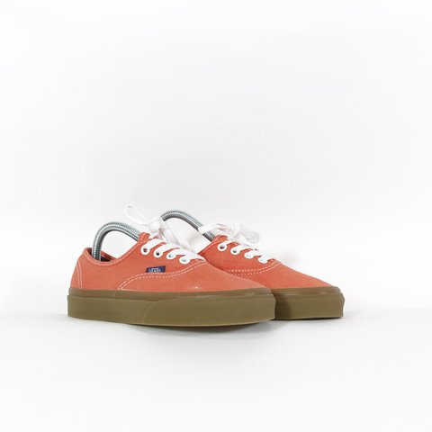 441482a223cb  hookedbhm. last year. United Kingdom. Vans Authentic Washed Canvas Cherry  Tomato ...