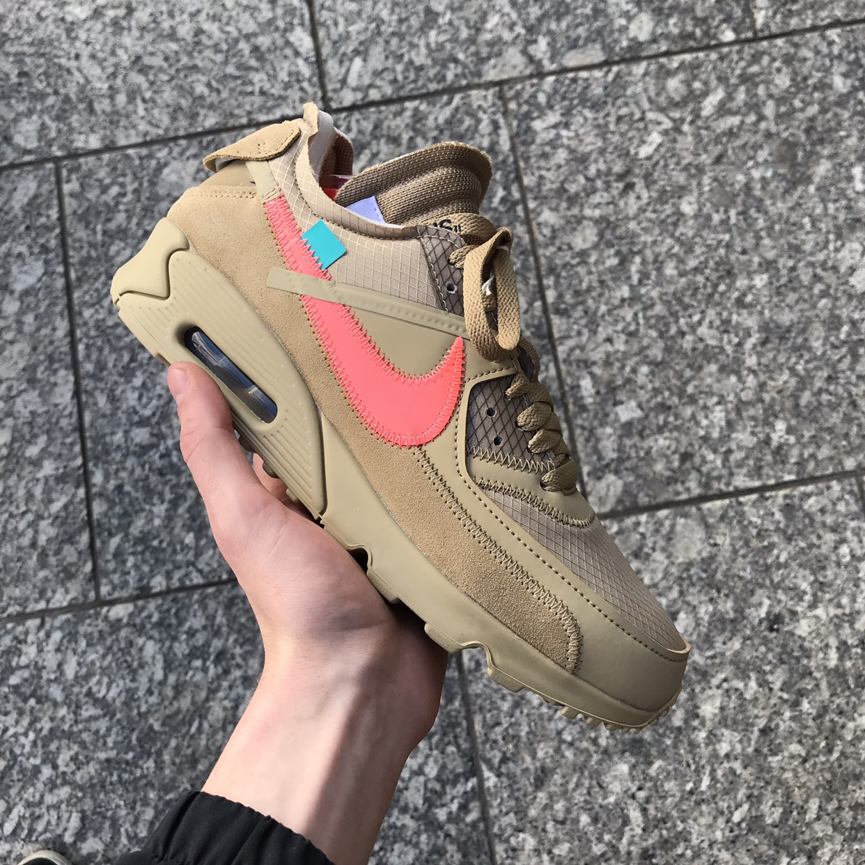 Nike Air Max 90 Off White Desert Ore Brand New With Depop