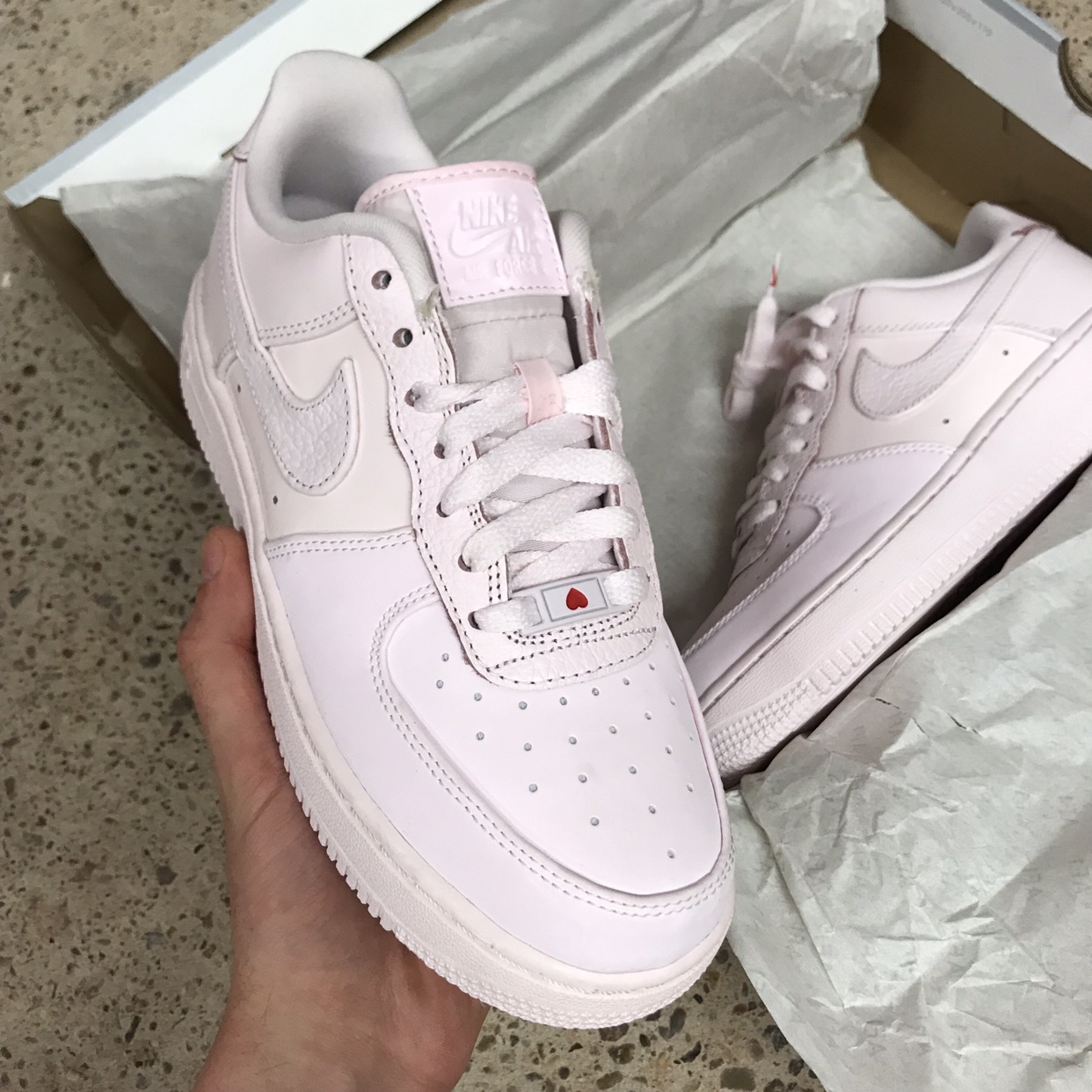 air force 1 pale pink